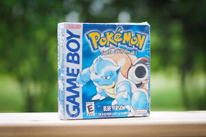 Pokemon Blue *Factory Sealed*