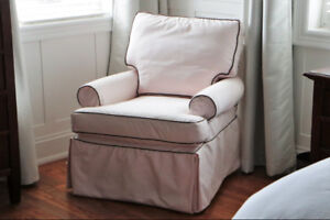 Restoration Hardware - SlipCovered Glider
