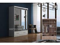 Marko 2 Door Wardrobe Mirror--Amazing Offer