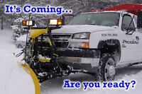 Snow Plowing and Ice Management
