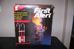 Home second story Escape ladder