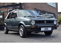 VW VOLKSWAGEN GOLF MK1 CONVERTIBLE CABRIOLET 1982 GREEN 1.5