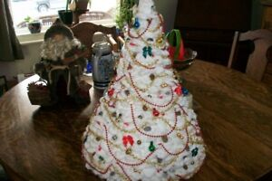 Gorgeous Hand Crochet - Christmas Tree and Ornaments