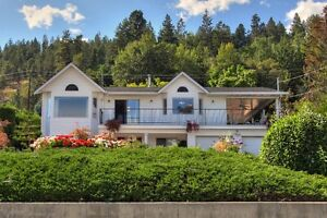 Semi Waterfront Home in Peachland