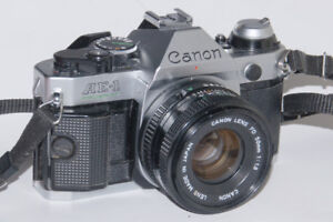 Canon AE-1 Program with FD 50mm f1.8