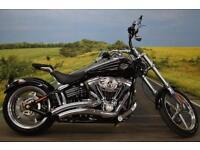 Harley Davidson FXCWC Rocker C **Vance & Hines Exhaust, Custom Grips**