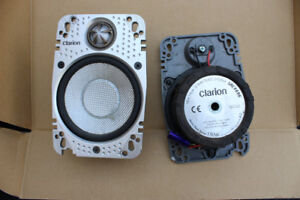 Two Clarion speakers for Jeep Wrangler