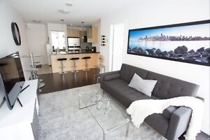 1 Bedroom & Den with Large Balcony (Yaletown & Downtown)