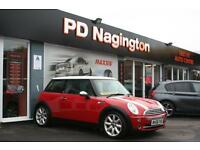 2006 MINI HATCHBACK 1.6 Cooper + HALF BLACK LEATHER SPORTS SEATS