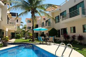 Condo de vos rêves à Puerto Aventuras - sur le golf