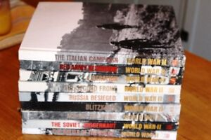 Set of 9 Time-Life World War II Books