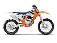 KTM SXF 450 2022 MOTOCROSS BIKE BRAND NEW UK BIKE