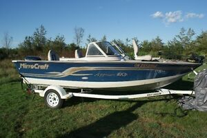 2002 Mirrocraft Fishing boat for sale