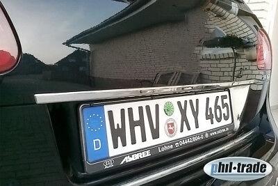 Chrom Kofferraum Leiste aus EDELSTAHL für VW Golf Bora Passat Touran Touareg UVM