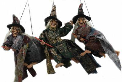 3-er Set Hexen,16 cm,Fasching,Fasnet,Hexenfiguren,Hexe,Halloween,Faschingsdeko,