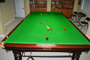 6 x 12 Riley Snooker table