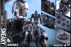 Iron Man Mark XV Sneaky 1/6 Scale Action Figure by Hot Toys