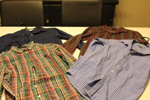 4 boys size 10/12 dress shirts