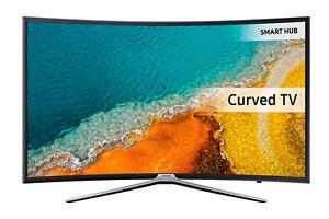 "Like new 55"" Samsung 3D smart Corved tv"