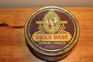Vintage Dill's Best Tobacco Tin London Ontario image 2