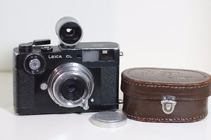 Leica CL with Canon 28mm f3.5 LTM mount
