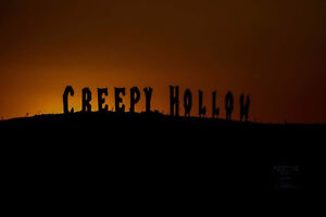 Camp sites at Creepy Hollow