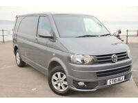 2010 VW TRANSPORTER T5 140 TDI 4MOTION SWB NO VAT AIR-CON TAILGATE GREY T5.1 4x4
