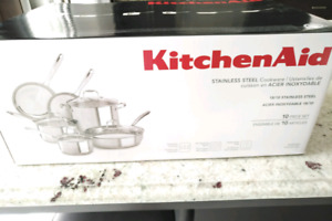 Kitchen Aid Stainless Steel Cookware