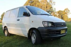 1998 Toyota Townace Manual Van in Good Reliable Order Wollongong Wollongong Area Preview