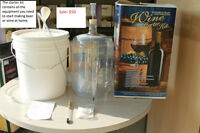 Grain To Glass Weekend Deal: Wine Making Starter Kit for $50