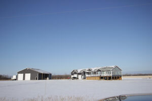 Beautiful Home, Huge Shop, 10 Acres All Close to the City!!!
