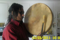 Selling First Nation's Hand Drum