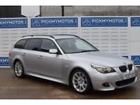 2007 07 BMW 5 SERIES 3.0 530D M SPORT TOURING 5D AUTO 232 BHP DIESEL