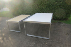 10 DISPLAY TABLES, COMMERCIAL QUALITY