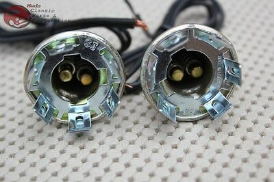 Chevy GM Light Lamp Sockets & Wiring Park Backup Brake Tail Lights Turn Signal (Chevrolet Wiring)