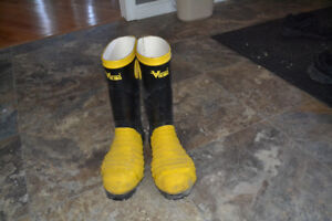 viking rubber miners boots
