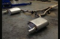 Original 2015 Ford Mustang cat back exhaust system