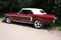 1967 Ford Mustang Convertible.