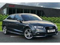 2016 Audi A3 Saloon S line Navigation 1.4 TFSI cylinder on demand 150 PS S tron