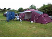 Khyam Ridgi Dome XL 4/6 man family tent