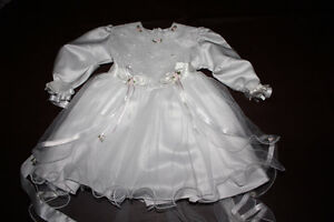 Brand new baptism outfit for baby girl Cambridge Kitchener Area image 5