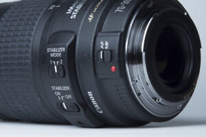 Canon EF USM 70-300mm w/ IS