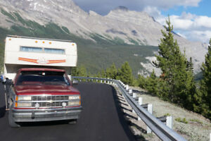 1990 Chev Pick-up Truck and Camper