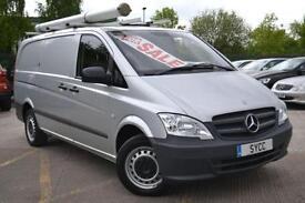 2011 Mercedes benz Vito 113CDI Van Long Wheel Base 6 door Panel Van