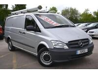 2011 Mercedes benz Vito 113CDI Van Long Wheel Base 6 door Panel Van