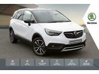 2020 Vauxhall CROSSLAND X 1.2 Elite NAV (130ps) Turbo Hatchback Petrol Manual