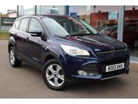 2013 FORD KUGA 2.0 TDCi Zetec AWD LOW MILES, 17andquot; ALLOYS and CRUISE