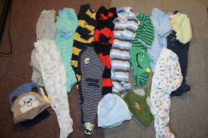 BOYS Newborn\0-3 Lot