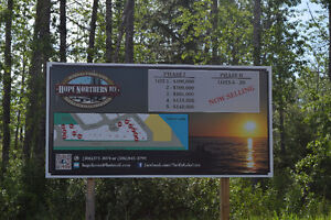 Lots for sale at Turtle Lake Lodge