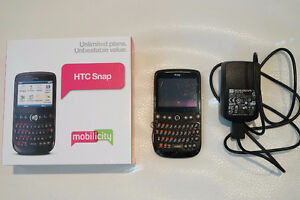 HTC Snap phone - Rogers, Fido, Mobilicity, Chatr